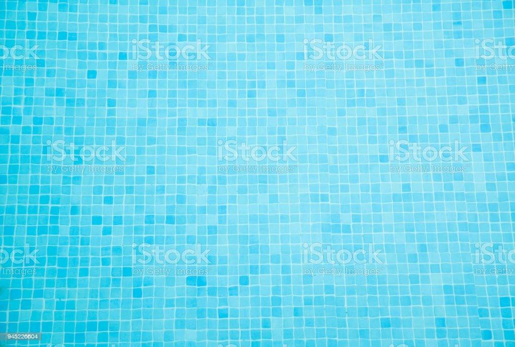 Swimming Pool Tiles Background stock photo