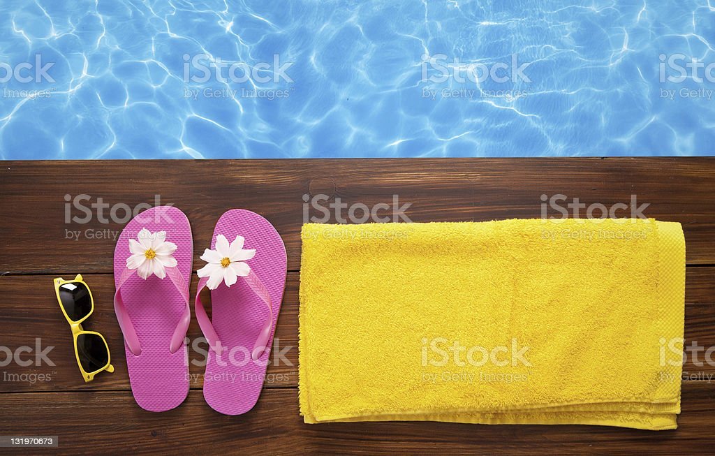 Swimming time royalty-free stock photo