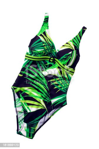 swimsuit (isolated with clipping path over white background)