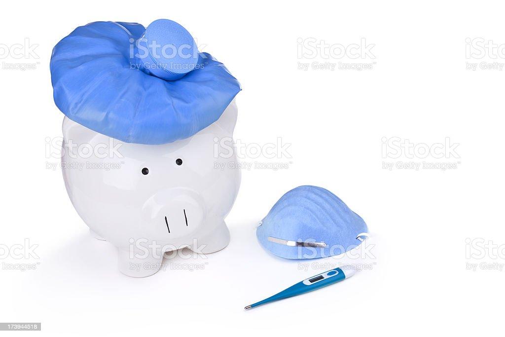 Swine Flu Virus Concept royalty-free stock photo