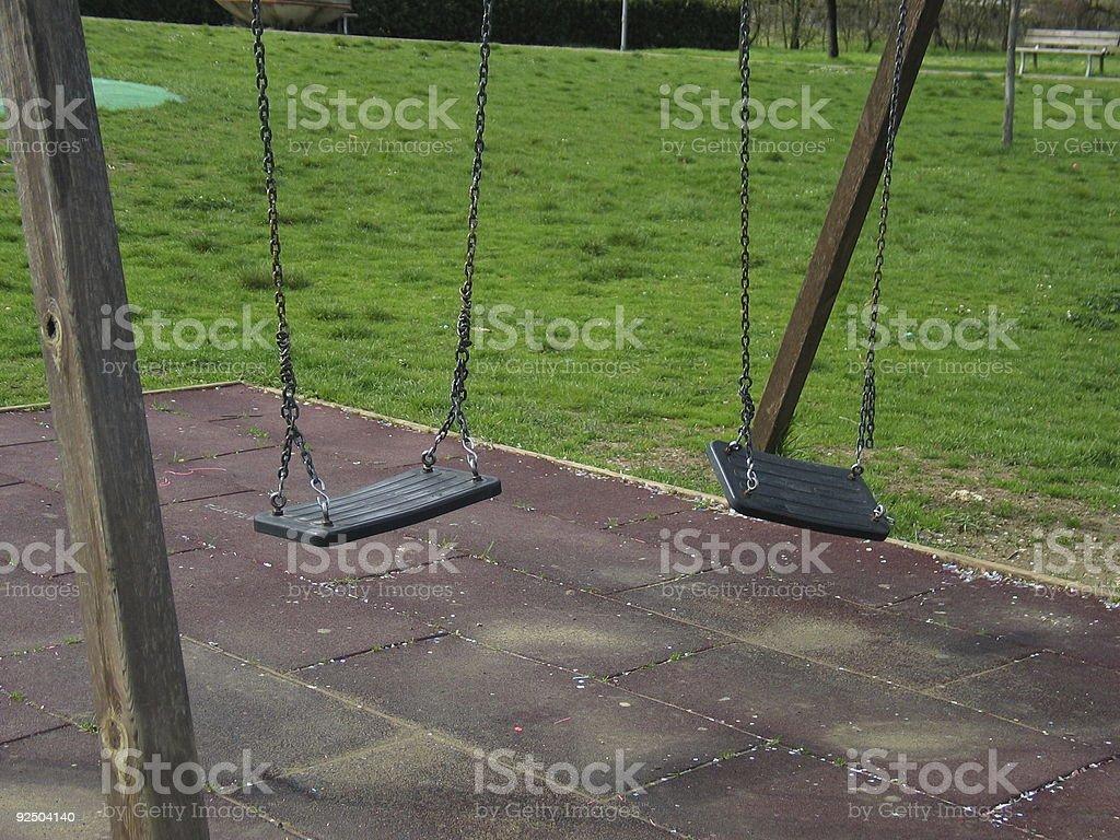 Swing - 03 royalty-free stock photo