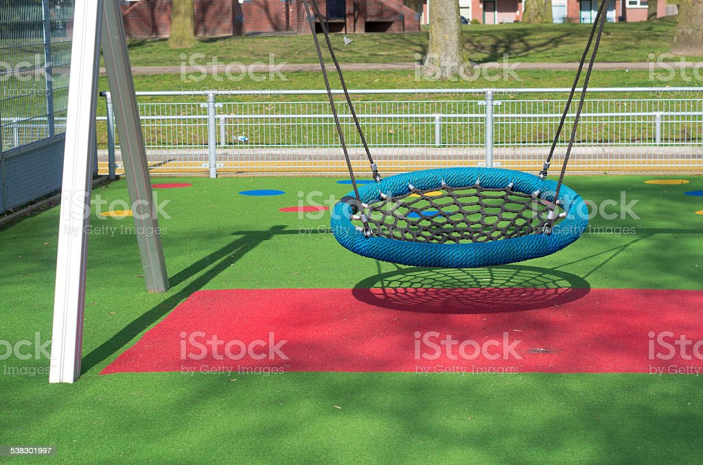 swing bench stock photo