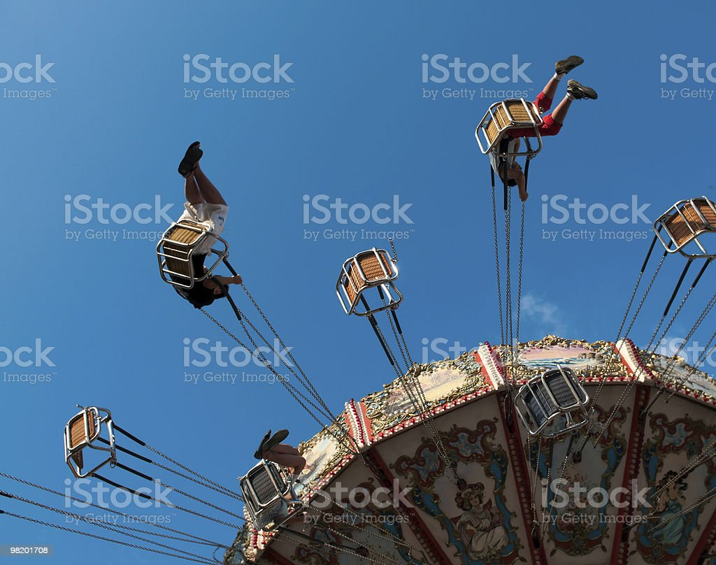 Swing Carousel royalty-free stock photo