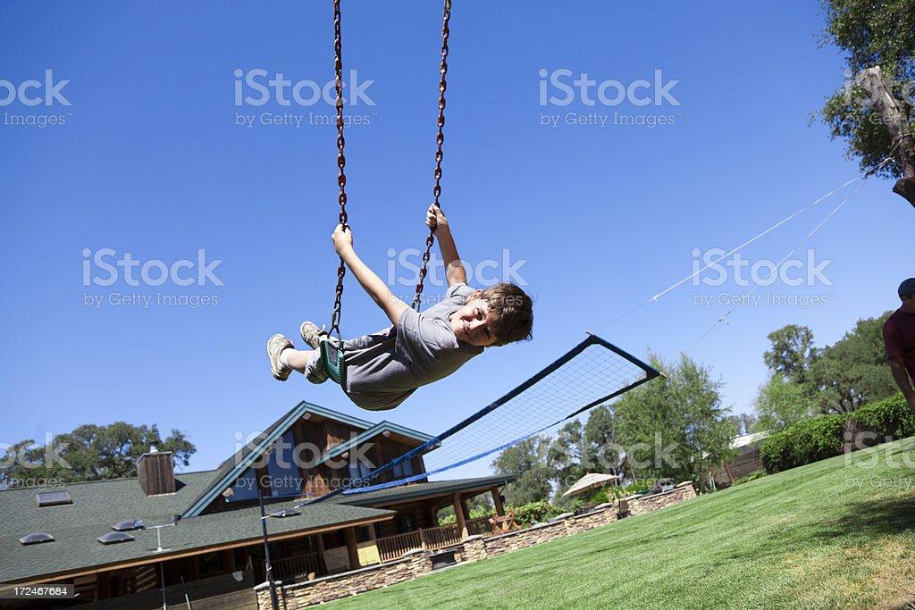 Swing fun royalty-free stock photo