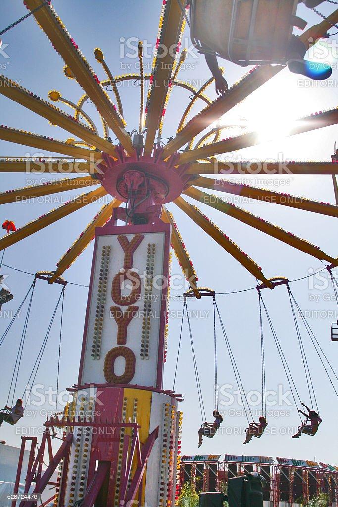 Swing Ride stock photo