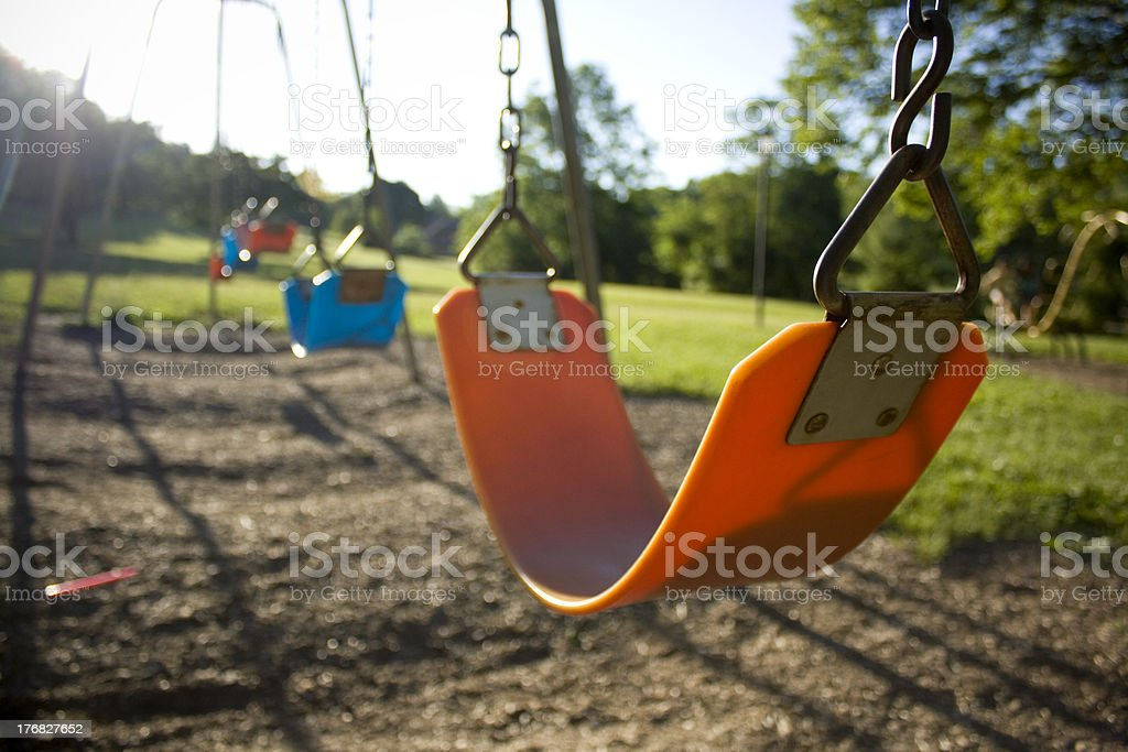 Swing Set royalty-free stock photo