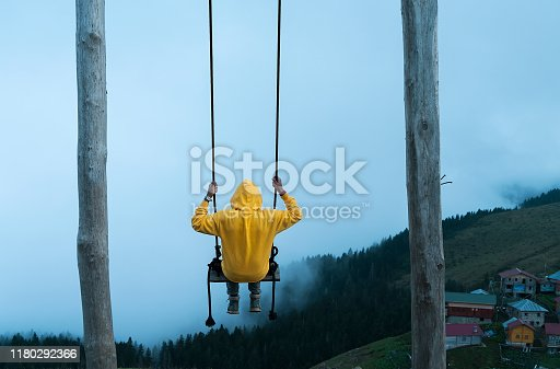 Nature swing man