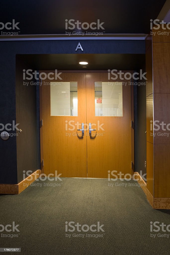 ... Swinging Doors in a Hospital Ward Entry stock photo ... & Hospital Door Pictures Images and Stock Photos - iStock pezcame.com
