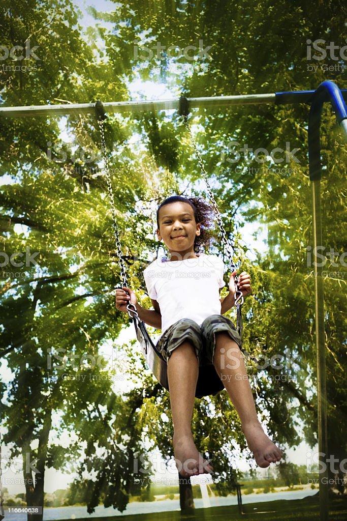 Swinging! royalty-free stock photo
