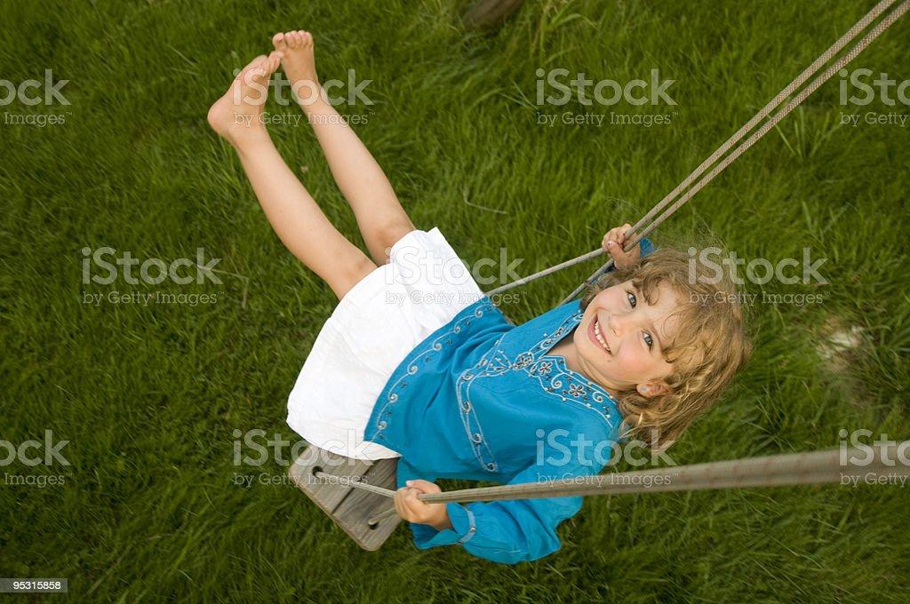 Swinging royalty-free stock photo