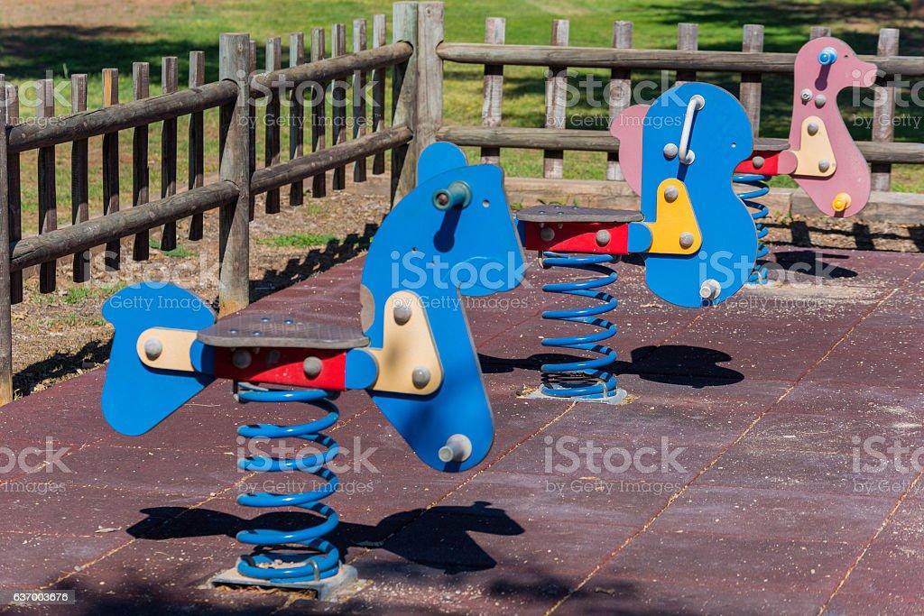 Swings. stock photo