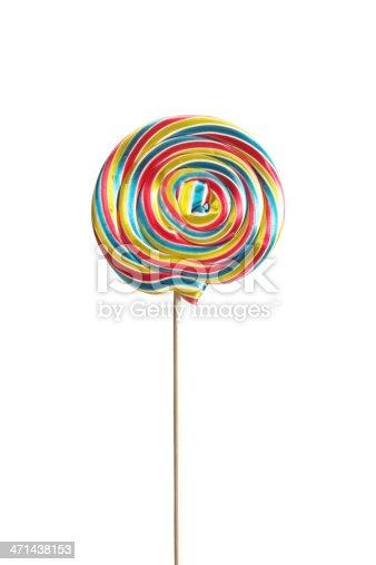 Swirl Lollipop (Clipping Path)