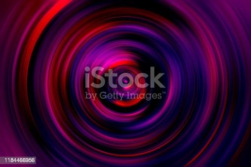 Colorful Holographic Circle Swirl Spiral Vortex Prism Neon Purple Violet Red Speed Laser Motion Pattern Background Retro Vaporwave Style Digitally Generated Image Distorted Fractal Fine Art