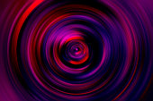 istock Swirl Spiral Vortex Prism Neon Purple Circle Speed Laser Motion Pattern Lens Light Painting Holographic Background Shiny Disk Abstract Magenta Vibrant Red Ultra Violet Blue Retro Style Blurred Spectrum Igniting Texture 1184466956