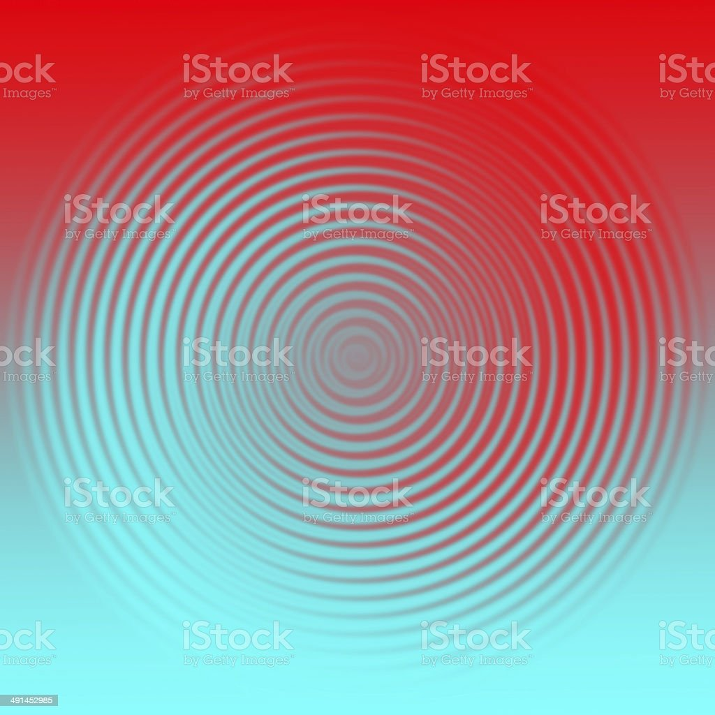 Swirling blue and red stock photo