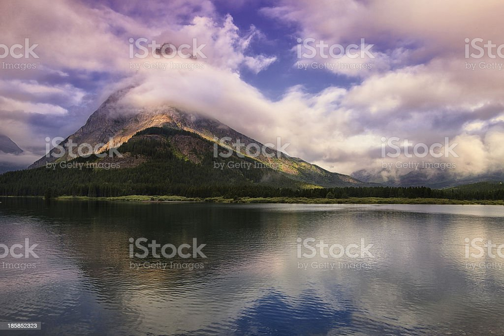 Swirling Clouds stock photo