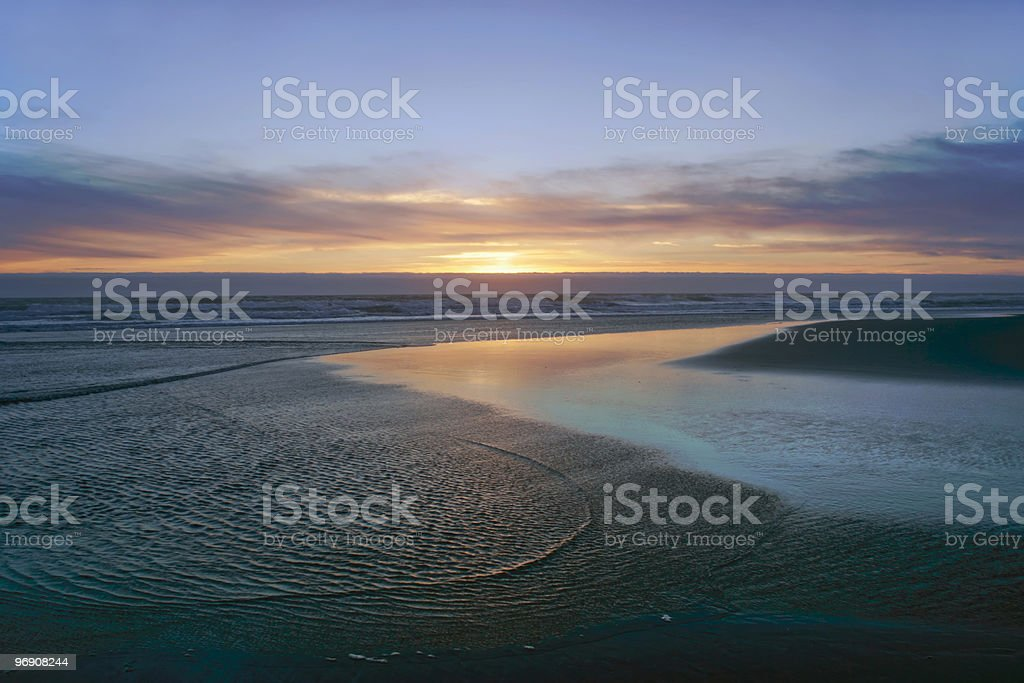 Swirling Ripples royalty-free stock photo