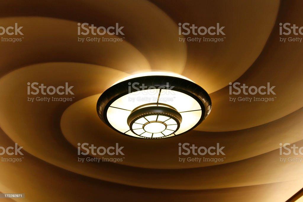 Swirly Light royalty-free stock photo