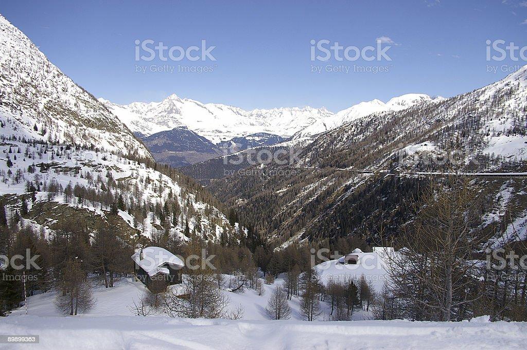 Swiss alps 3 stock photo