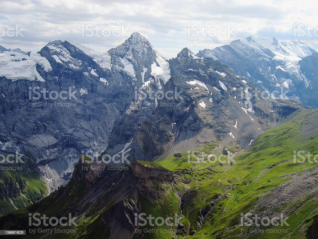 Swiss Alps 5 royalty-free stock photo