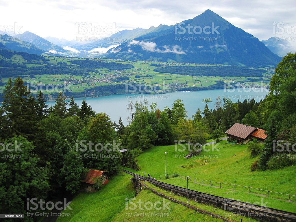 Swiss Alps 7 royalty-free stock photo
