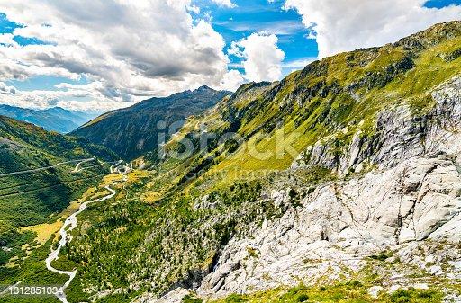 istock Swiss Alps at Furka Pass 1312851034