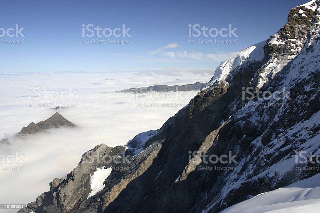 Swiss Alps Close Up royalty-free stock photo