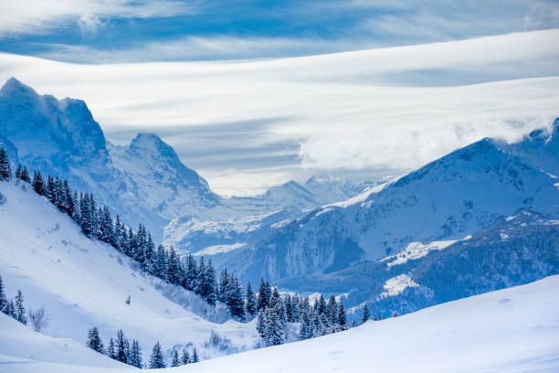 Schweizer Alpen-Gebirge – Foto