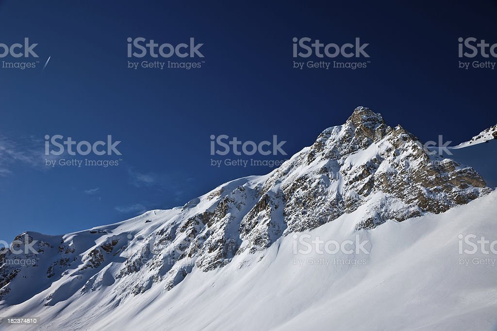Swiss Alps Mountains royalty-free stock photo