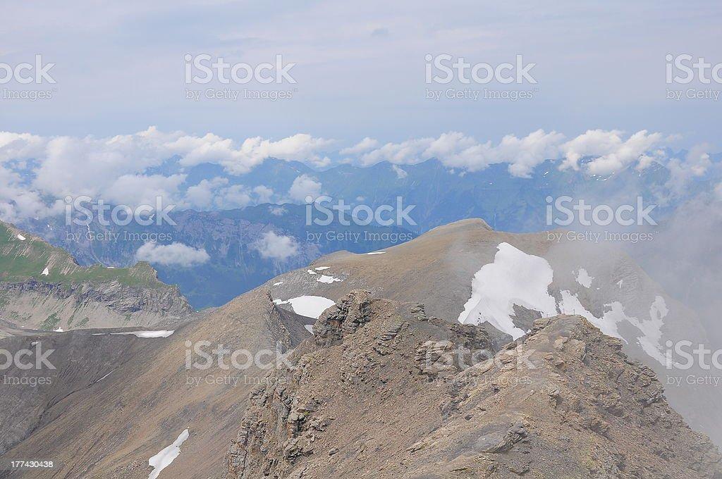 Swiss Alps. royalty-free stock photo