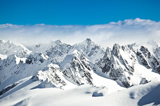 швейцарские альпы - европейские альпы стоковые фото и изображения