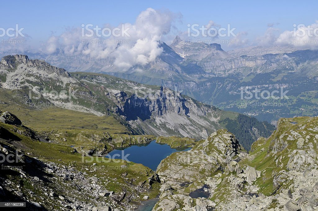 Swiss Alps (Glarus) stock photo
