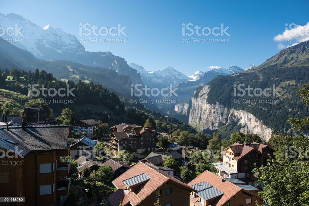 Schweizer Alsp, Wengen Lauterbrunnental – Foto