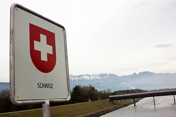 Schweizer Grenze - – Foto