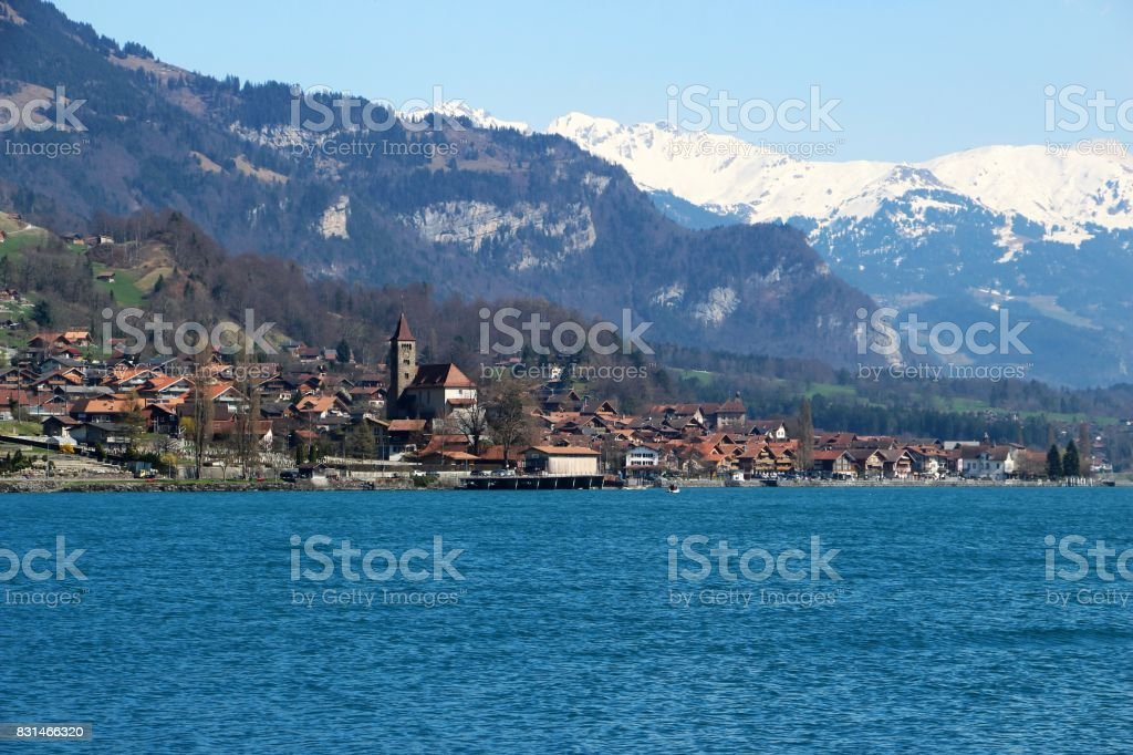 suisse, Brienz stock photo