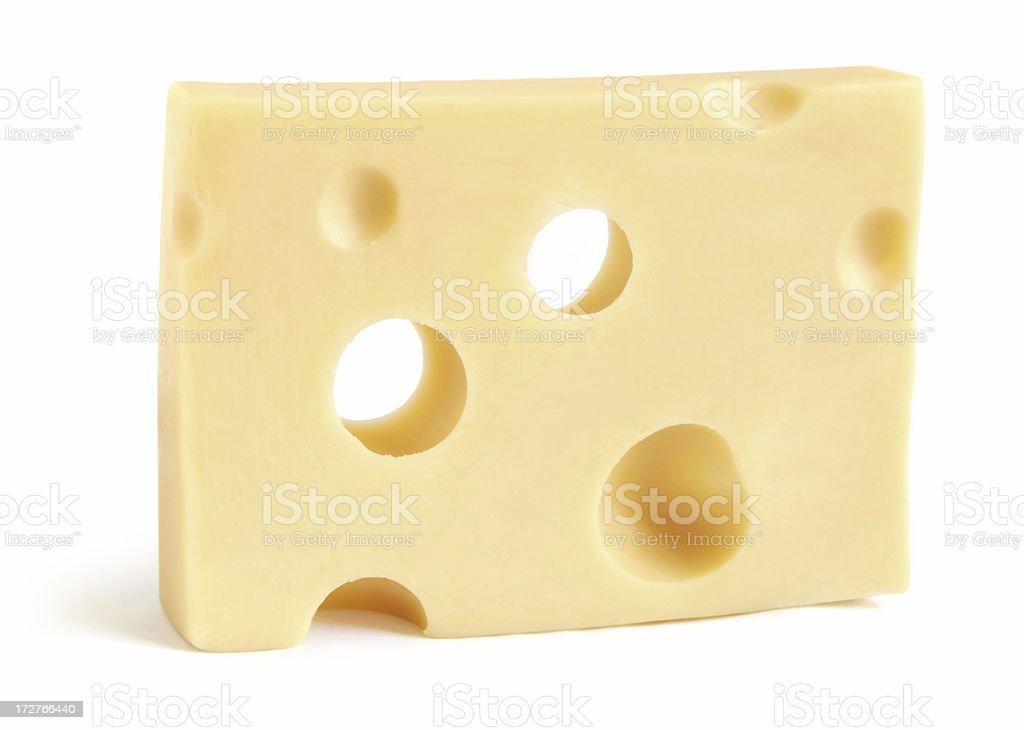 Swiss cheese royalty-free stock photo