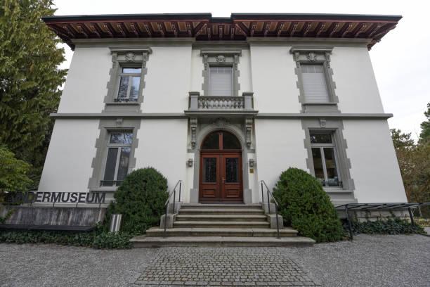 schweizer kindermuseum baden - wiedenmeier baden stock-fotos und bilder