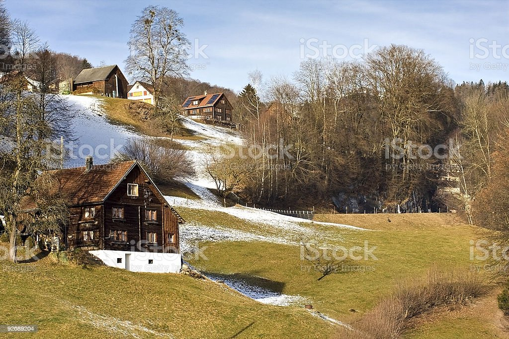 Swiss country royalty-free stock photo