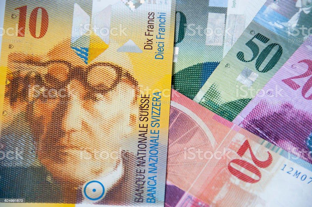 Schweizer Währung, franc – Foto