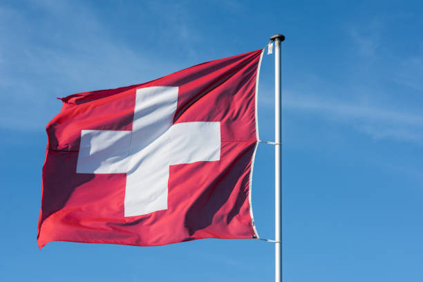 Schweizer Flagge – Foto