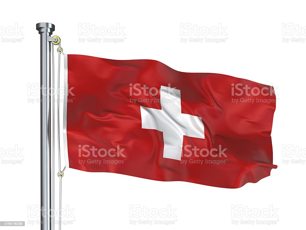 Swiss Flag royalty-free stock photo
