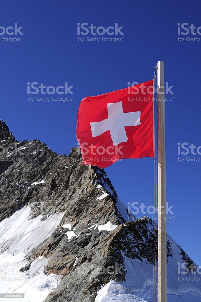 Swiss Flag - XLarge royalty-free stock photo