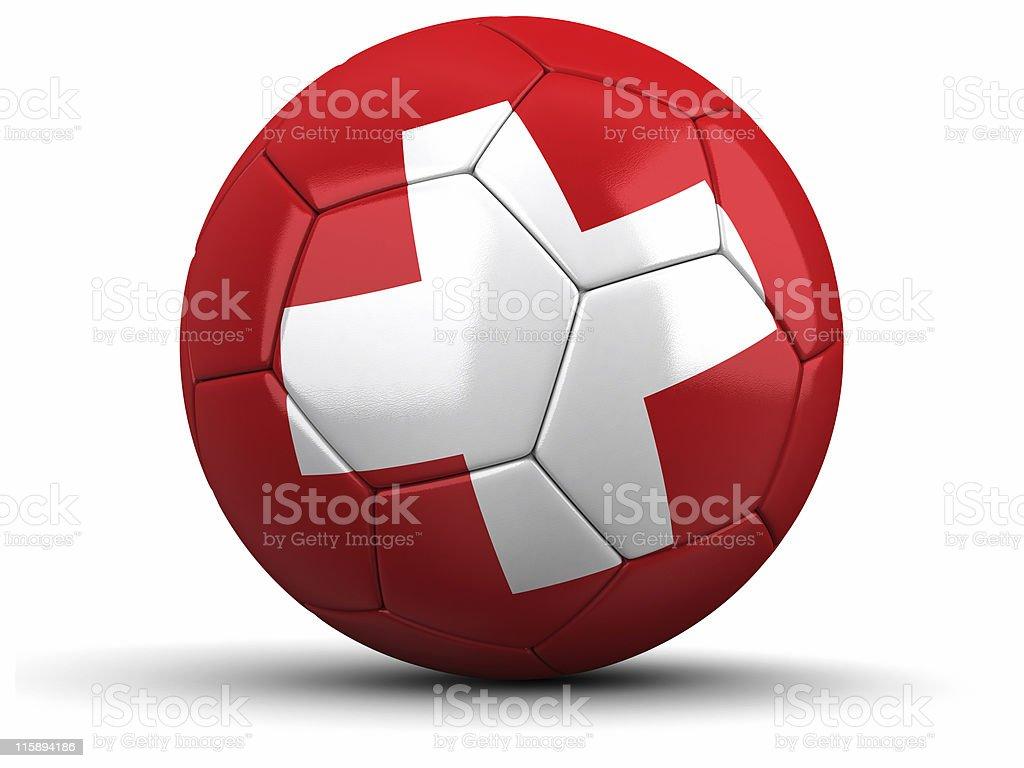 Swiss Football royalty-free stock photo