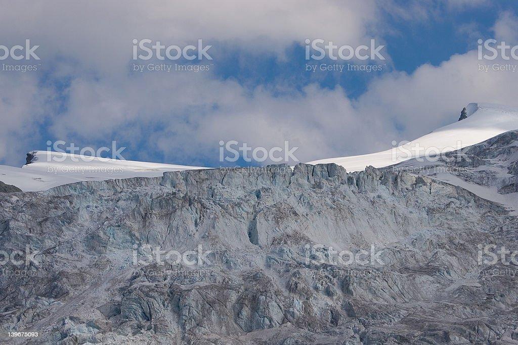 Swiss glacier royalty-free stock photo