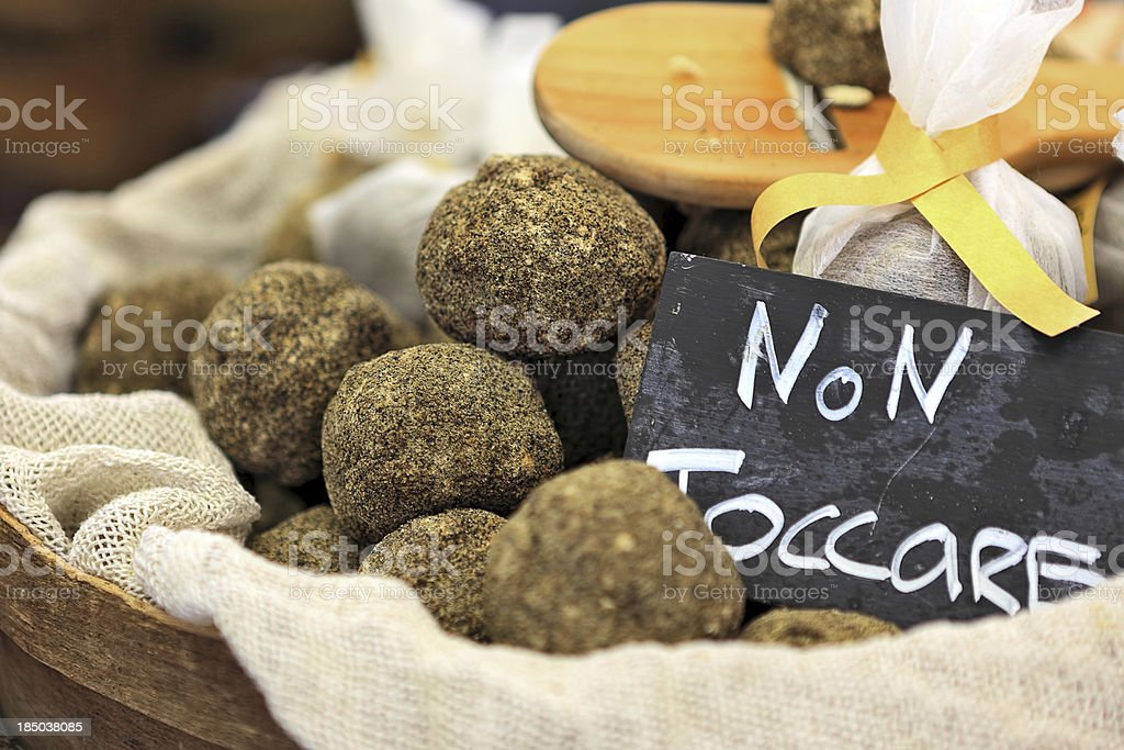 Swiss hard cheese small balls. royalty-free stock photo