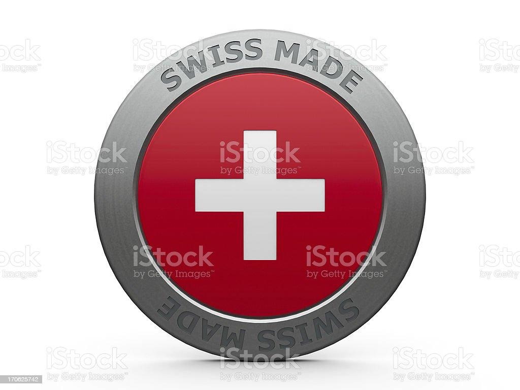 Swiss made stock photo