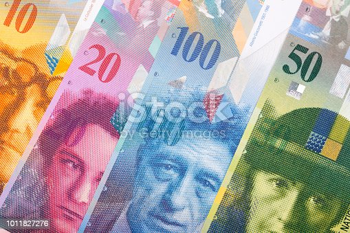 Swiss money, a business background