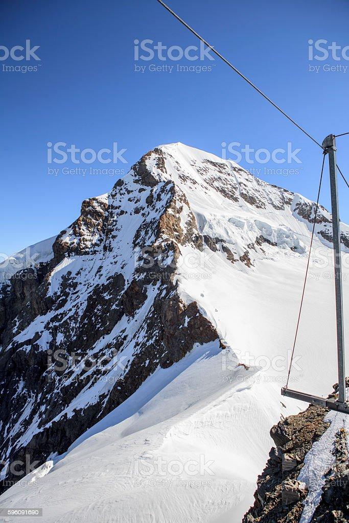 Swiss mountain, Jungfrau, Switzerland royalty-free stock photo