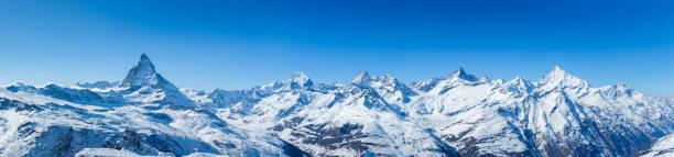 swiss mountains panorama - kanton schweiz stock-fotos und bilder