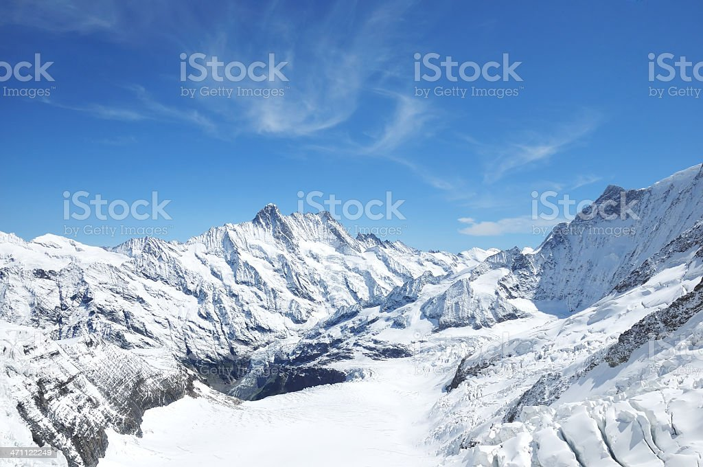 Swiss Mountains stock photo